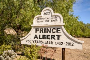 prince albert sign