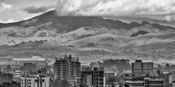 addis ababa black and white