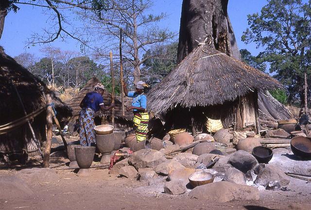 senegal huts