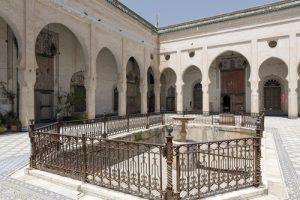 glaoui courtyard