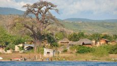 Small village at the edge of Niassa Reserve. Photo: USAID AfricaBureau/Wiki Commons
