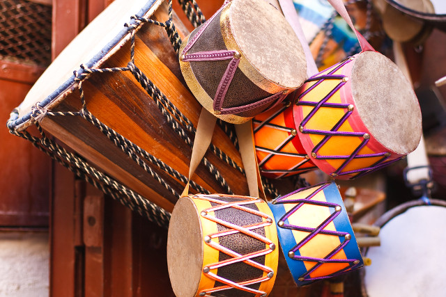 Moroccan drums