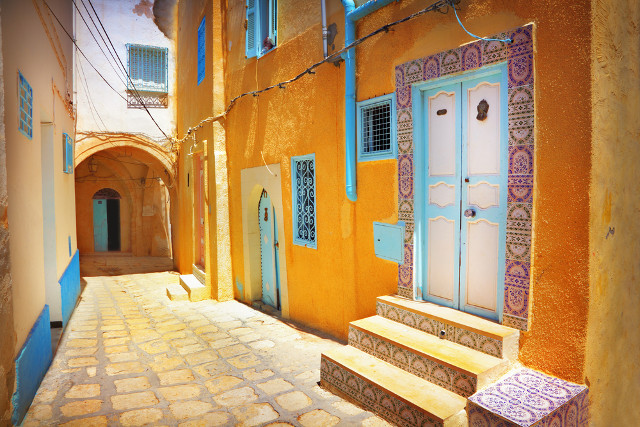 colourful streets of Sousse, Medina