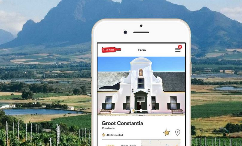 A New App To Try In The Winelands Of The Western Cape