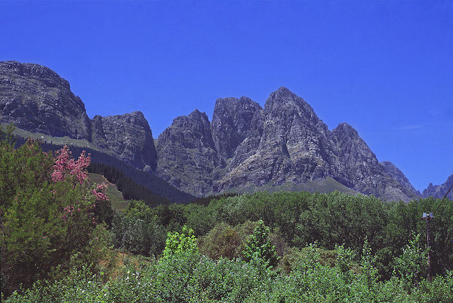 Jonkershoek_Valley in stellenbosch