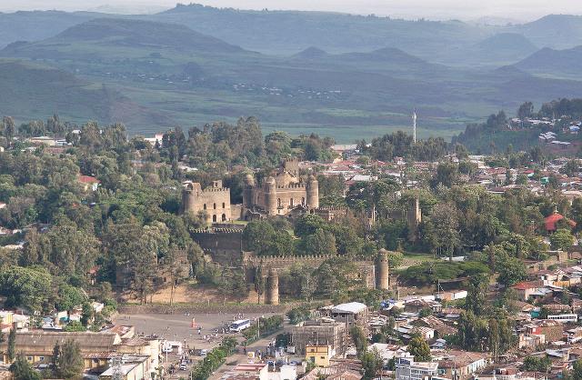 Gondar aerial