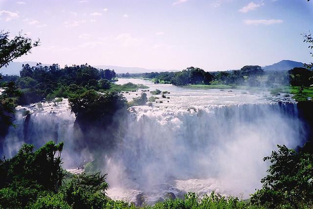 Tis Issat Falls on the Blue Nile