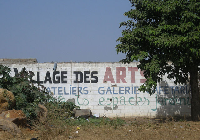 Art gallery in Dakar