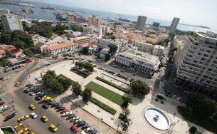 Central square in Dakar