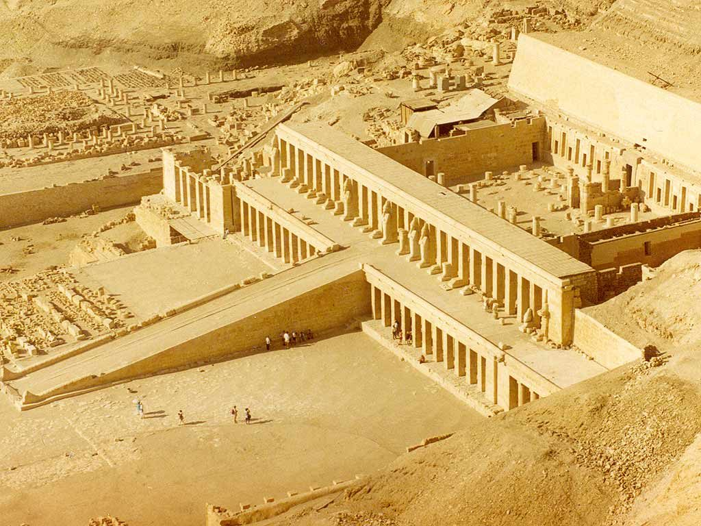 Hatshepsut Temple near Luxor, Egypt