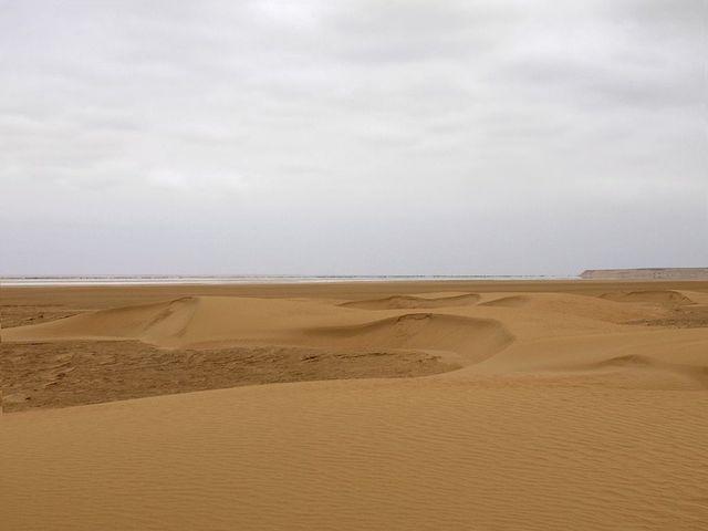 Khenifiss National Park in morocco