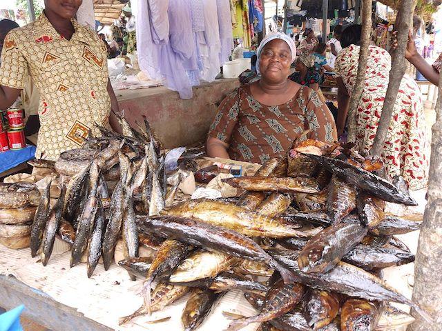 Kivukoni Fish Market in Tanzania