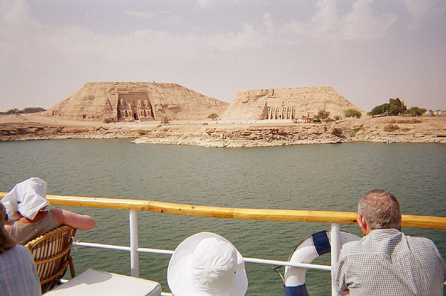 temples on Lake Nasser