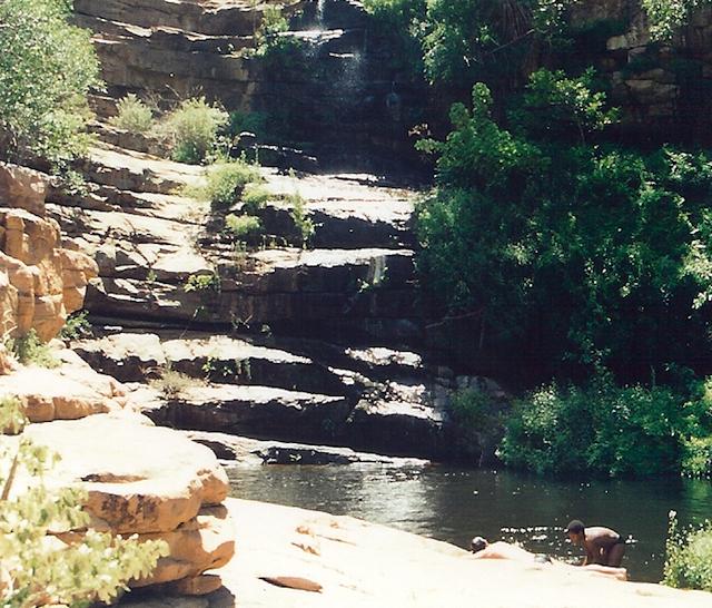 Moremi_gorge in botswana