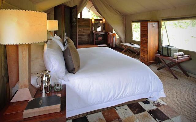 glamping in Nxabega Okavango Tented Camp in botswana