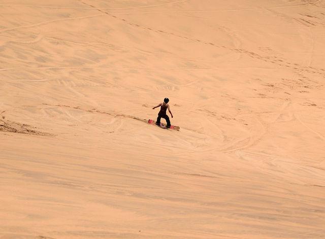 Swakopmund_Sandboarding in Namibia