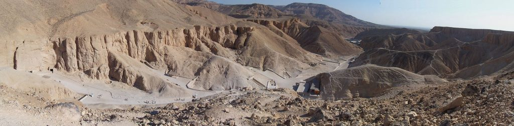 Panorama of the Valley of the Kings