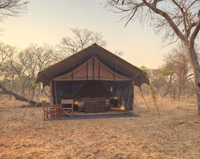glamping in andbeyond chobe under canvas in botswana