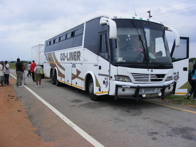 bus in zambia