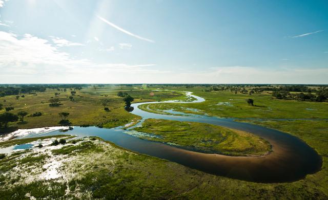 helicoper horizons in botswana