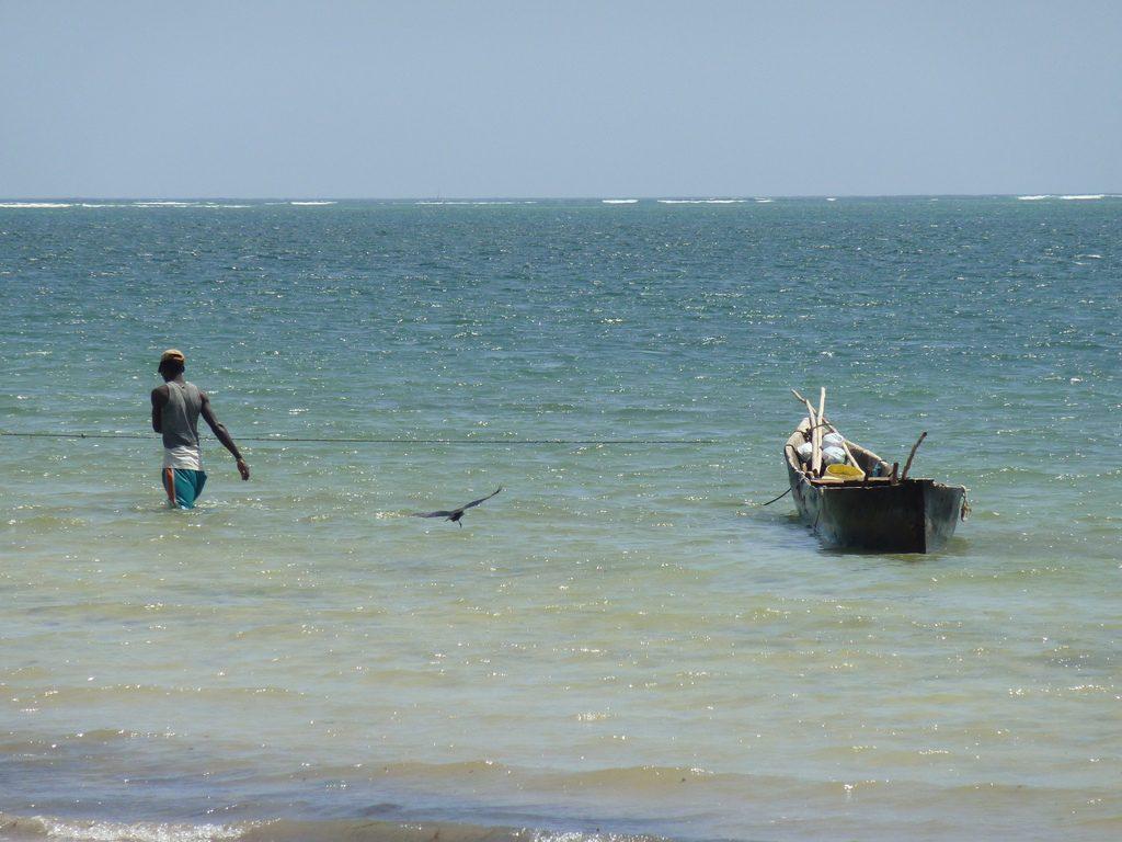 Nyalia Beach, Mombasa, Kenya