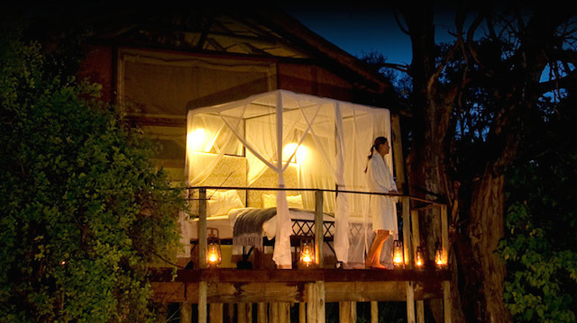 glamping in sanctuary baines camp in botswana