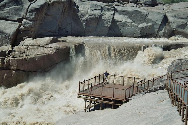 Augrabie falls orange river