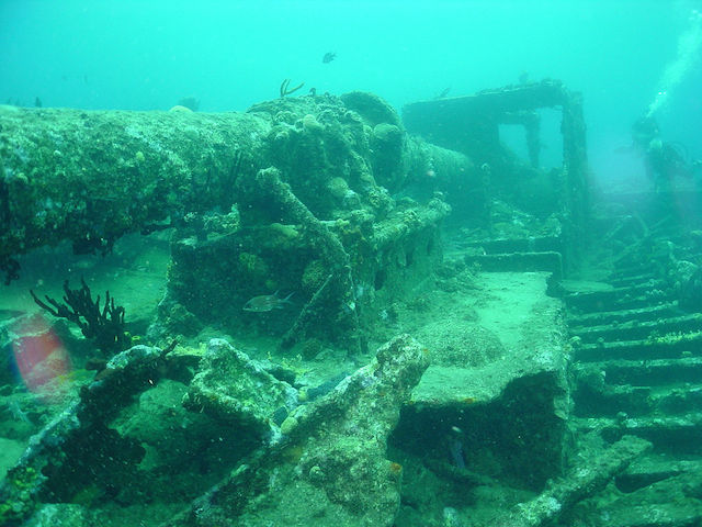 Kwarcit Wreck cape verde scuba diving