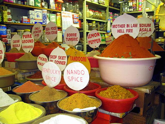 The Victoria Street Market in Durban