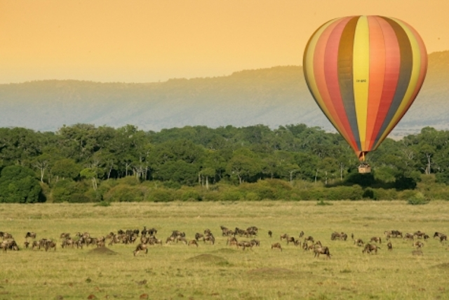 balloon-safari in kenya