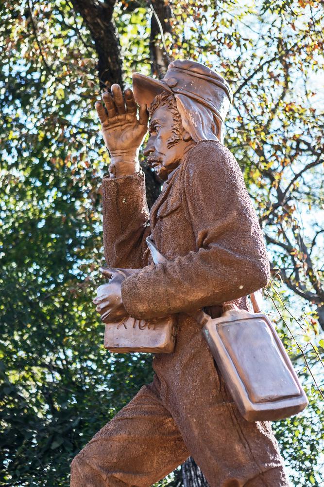 dr livingstone monument zambezi