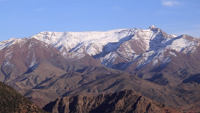 national parks in morocco