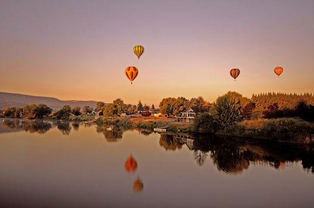 hot air balloon orange river