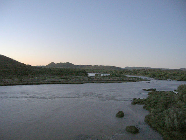 silence at the orange river
