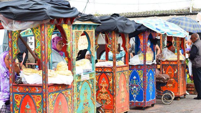 Rabat bread carts