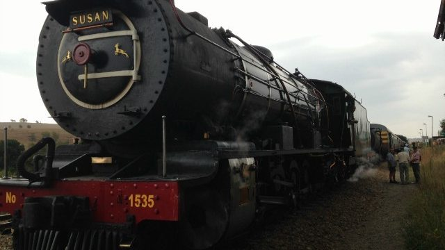 All Aboard! Journey To Magaliesburg On A Vintage Steam Train