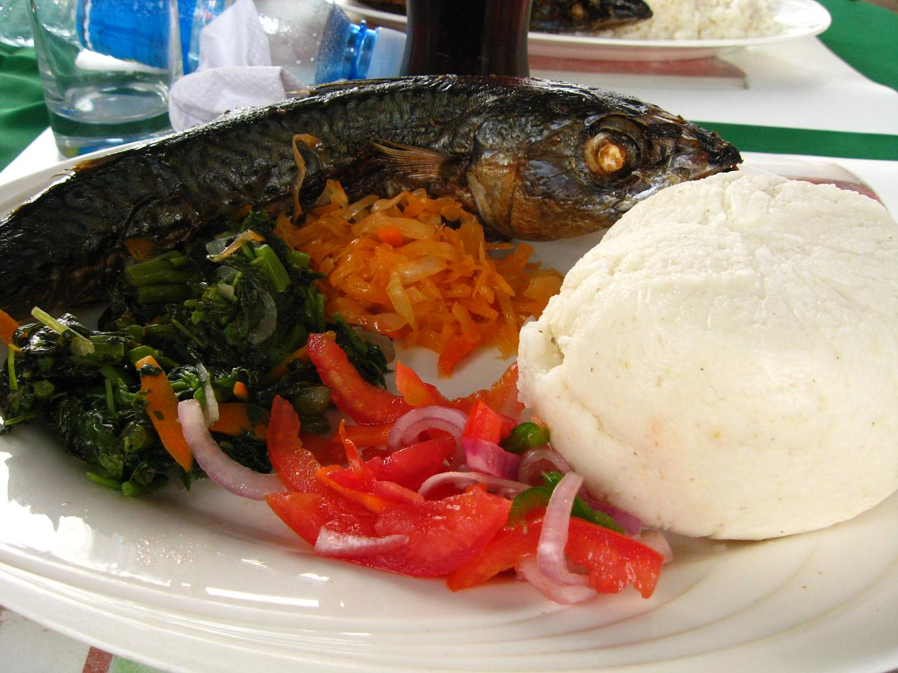 Travel tip of the day how to eat ugali afktravel for Names of fish to eat