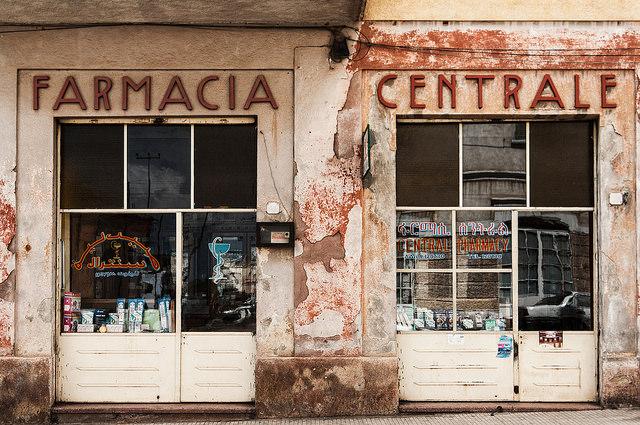 photo essay  art deco and art nouveau in asmara  eritrea   afktravelasmara pharmacy