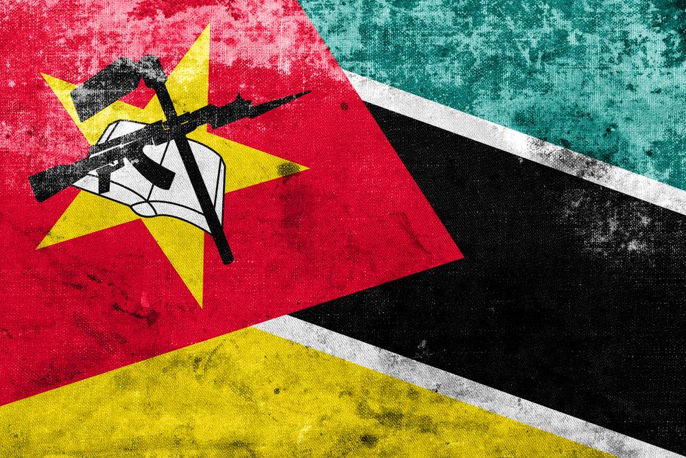 mozambique flag vintage