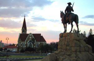 windhoek statue