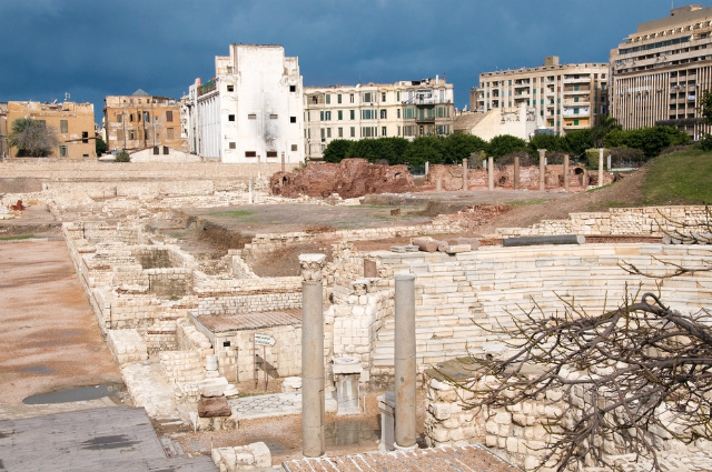 ancient alexandria ruins