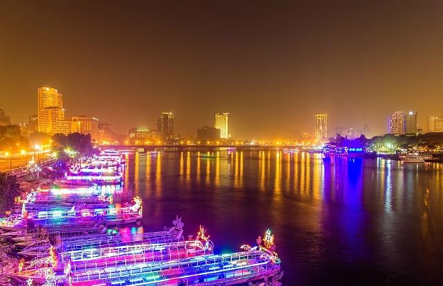 cairo river night