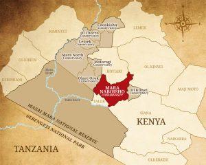 Mara Naboisho map