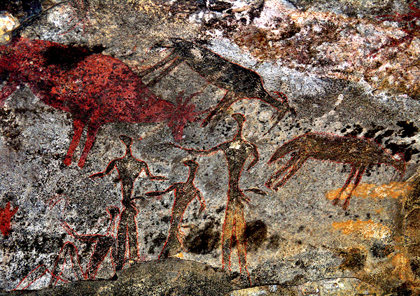 rock painting swaziland