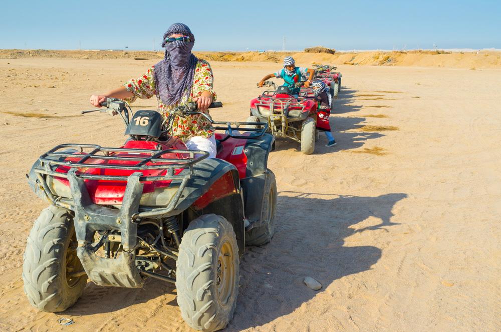 quad biking in hurghada