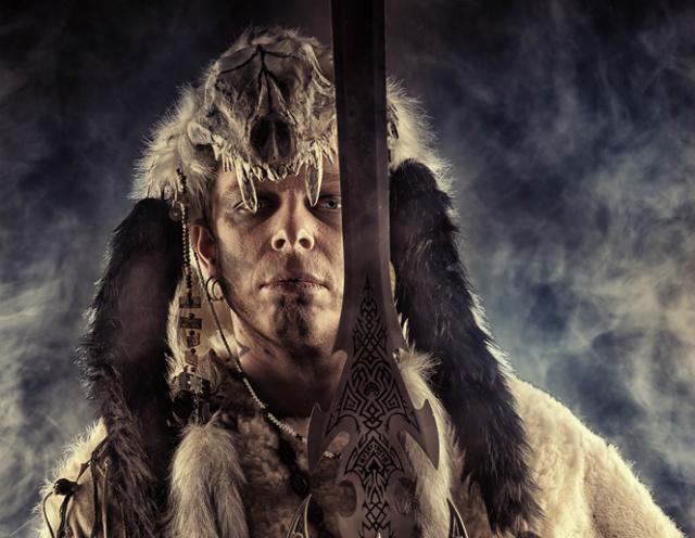 barbarian in costume