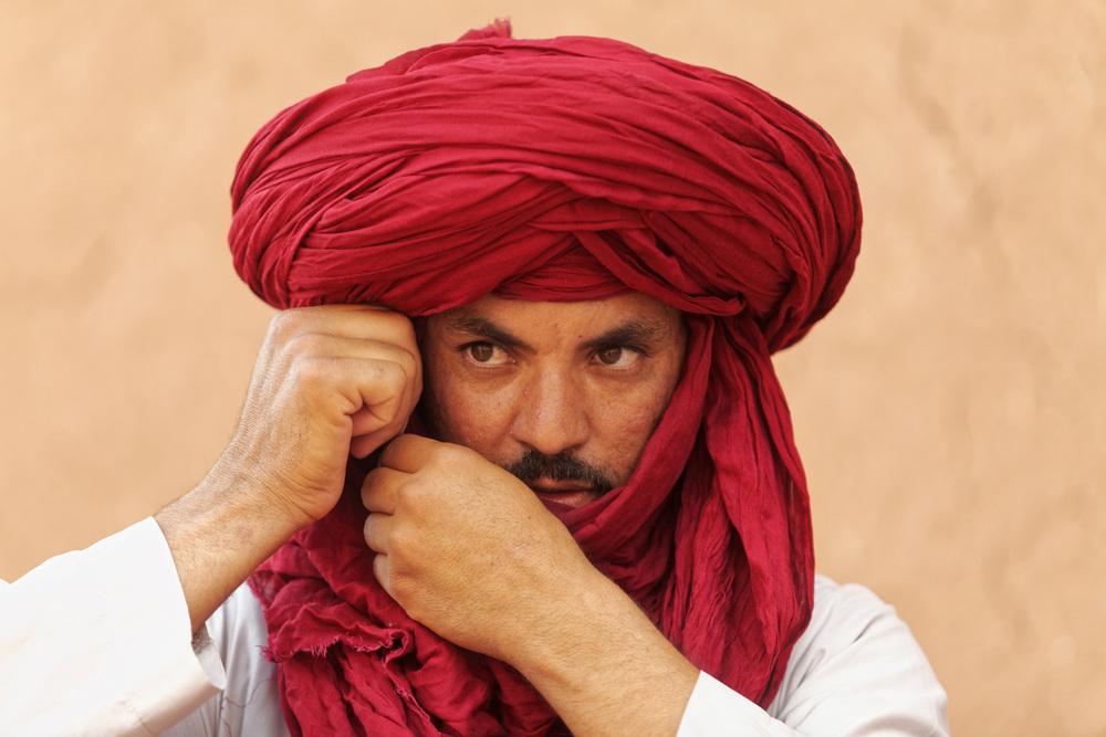 berber man morocco