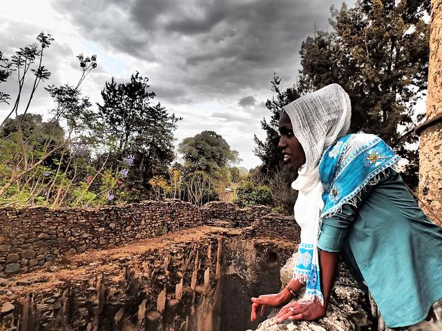 ethiopian woman fasil ghebbi