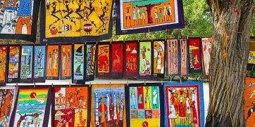 market in maputo