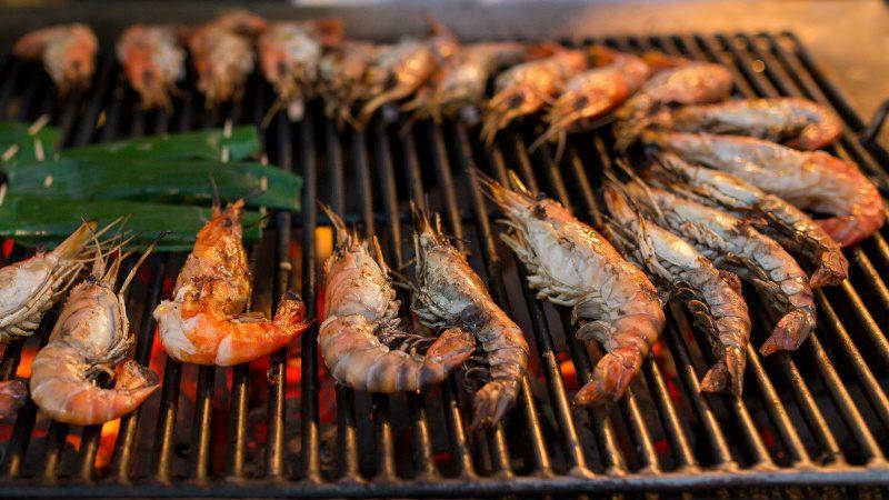 mozambique prawn grill